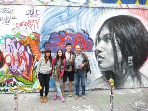 street art dans Paris